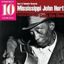 """MISSISSIPPI"" JOHN HURT - BEST OF ROUNDER: CANDY MAN BLUES  CD NEU"