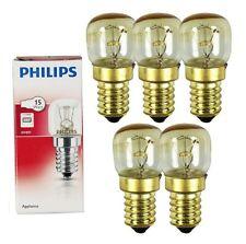 5x GENUINE PHILIPS OVEN BULB MICROWAVE BULB 15W E14 300C SES COOKER LAMP 5xA4119