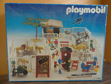 Playmobil Zoo Animal Lion Tiger Monkey Elephant Zebra Giraffe Family Set 3145