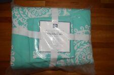 Pottery Barn Medallion Florette Comforter Quilt Xl Twin Bedding 5Pc Pool #120