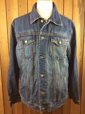 Men's GAP DENIM Trucker Jean Metal Button Jacket Size XL