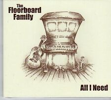(EU843) The Floorboard Family, All I Need - 2012 sealed CD