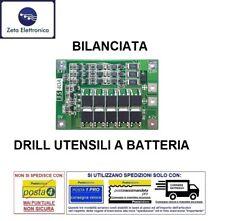BMS 3S CIRCUITO DI CONTROLLO PROTEZIONE BATTERIA 18650 LI-ION 12,6V 40A TRAPANO.