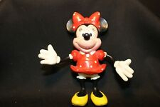 "Minnie Mouse - 5"" Tall - Applause - Pvc - Bendable Figurine - Disney"