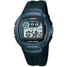 Casio Uhr W-210-1BVES Herren Damen Digital Armbanduhr Grau Schwarz NEU & OVP