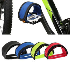 Hk- Au_ Fixed Gear Fixie Bicycle Anti-slip Double Adhesive Pedal Strap Toe Clip