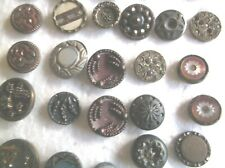 COLLECTION OF ASSORTED VINTAGE BUTTONS - INCLUDING AUSTRIAN TINIES