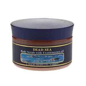 Malki Dead Sea Body Scrub With Frankincese Oil -  300ml Jar