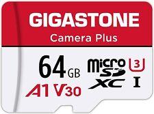 Gigastone 64GB Micro SD Card 4K UHD Video Surveillance Security Action Camera