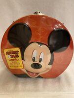 "Disney Embossed Mickey 6"" Tin Lunch Box"