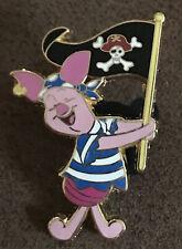 Disney Piglet Pirates of the Caribbean Flag pin Htf
