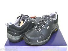 Ahnu Montara II Leather Black Women Hiking Shoes US8.5/UK7/EU39.5/JP255