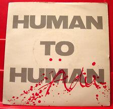 "(Rauf) Adu Human To Human 7"" PC UK ORIG 1985 Modtone Gravy Train (Instr) VINYL"