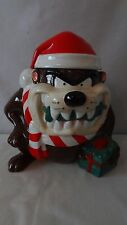 "Tazmanian Devil ""1 of 6"" Made 1993 Christmas Sampler Cookie Jar #H933."