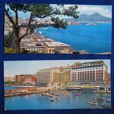 LOTTO 2 MINI CARD - GOLFO + S. LUCIA - NAPOLI - 1969
