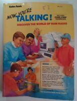 Now You're Talking World of Ham Radio Book 1992 Exam Prep RARE VHTF Radio Shack