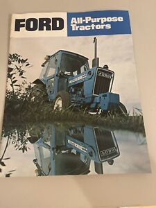 Ford All-Purpose Tractors Sales Brochure Spec Sheet Vintage Literature