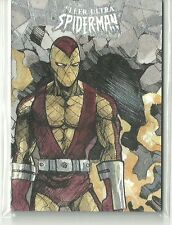 2017 Marvel Fleer Ultra Spider-Man Shocker Sketch Card - Lydi Li Tubillara