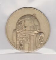 2005 Star Wars R2-D2 Droid Metal California Lottery Official Coin A NEW HOPE