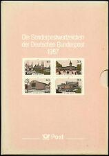 Germania ovest e Berlino 1987 COMPLETO YEAR BOOK + COFANETTO MNH CAT £ 110 + #J 32