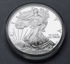 2001 W US WALKING LIBERTY 1 OZ BULLION PROOF .999 SILVER COIN COLLECTIBLE  P51