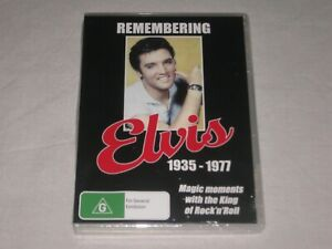 Remembering Elvis - 1935 - 1977 - Brand New & Sealed - Region 4 - DVD