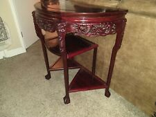 Gorgeous Antique Chinese Rosewood Half Table From 1900sin Great Condition Fa