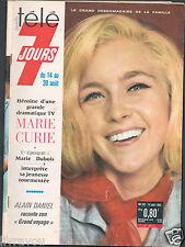 ►Télé 7 Jours 282 /1965 Marie Dubois_Sheila_Alexandre Calder_Pierre Michaël