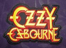 Ozzy Osbourne Patch Bark At The Moon Logo Black Sabbath Embroidered Diy