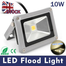 10W Warm White LED Bulb Floodlight Outdoor Garden Security Flood Light