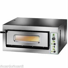 FORNO ELETTRICO PIZZA 1 CAMERA CM 91X61 TF 400 V Professionale 6400 W PIROMETRO