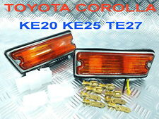TURN SIGNAL SIDE MARKER LIGHT FIT FOR TOYOTA COROLLA KE20 KE25 KE26 TE25 TE21