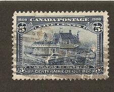 Canada Scott #99 Quebec Tercentenary - Champlain's Home - 1908 Issue - Used