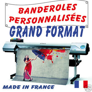 BANDEROLE PUBLICITAIRE Express  2,40 x 0,80