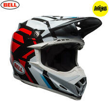 Bell MX 2018 Moto-9 Mips Adult Helmet (District White/Black/Red) LARGE 58 - 59cm