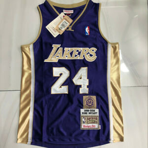 Kobe Bryant 24# Los Angeles Lakers Hall of Fame Memorial Edition Jersey Purple