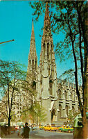 Postcard St. Patrick's Cathedral, New York City