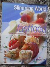 SLIMMING WORLD FAST FOOD BOOK -120 RECIPES ORIGINAL PLAN RED & GREEN DAYS VGC