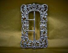 Art Nouveau sterling silver buckle hallmarked M Bro Birmingham 1900