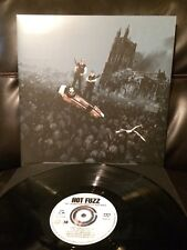 Hot Fuzz Soundtrack Mondo LP Vinyl BLACK Edgar Wright Simon Pegg Near Mint