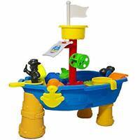 24 Piece Outdoor Pirate Sand and Water Table – Ship Design, Splashing