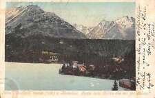 Csorba See Slovakia Basyaval Bastei Csorbatol Antique Postcard J59772