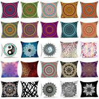 Indian Bohemian mandala throw pillows case sofa cojines cushion cover Home Decor
