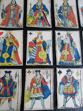 Old Miniature Playing Cards Napoleonic c.1800 Paris Pattern Pennyprints USSR Box