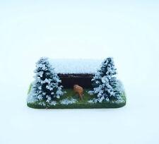 Jordan H0: Große Futterstelle mit Wild im Schnee (JO 32A) - NEU
