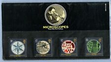 1989, Royal Mail Mint Stamps, Pack No. 201, Microscopes