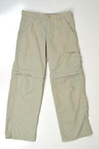 Boy's Columbia Convertible Hiking Pants Small/8 EUC