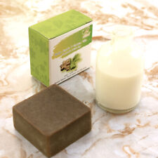 SACHA INCHI & GREEN TEA HANDMADE MILK SOAP Face  fragrant./60 g.