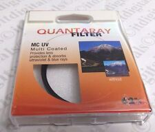 62mm Quantaray Multi-Coated UV Protection Glass Lens Filter Safety Japan 62 mm