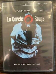 LE CERCLE ROUGE (1970) - CRITERION COLLECTION MELVILLE, DELON OOP 2DVD